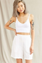 Urban Renewal Vintage High Waist Linen Short Assorted