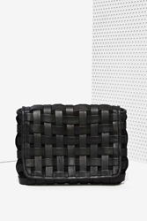 Nasty Gal Holystone Carry Me Leather Clutch