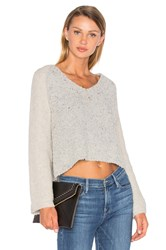 Line Drew Bell Sleeve Sweater Gray