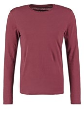 Pier One Long Sleeved Top Bordeaux