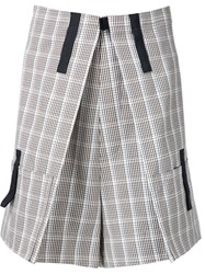 Raf Simons Kilt Shorts Brown