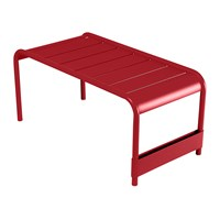 Fermob Luxembourg Low Table Poppy