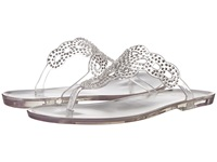 Stuart Weitzman Mermaid Clear Jelly Women's Sandals