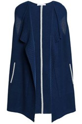 Duffy Draped Cashmere Cardigan Storm Blue