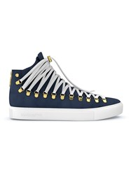 Swear Redchurch Fast Track Customisation Calf Leather Suede Rubber Blue