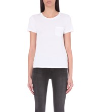 Levi's The Perfect Cotton Jersey T Shirt White Cn 100Xx