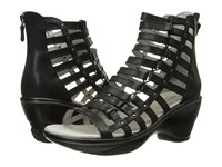 Jambu Brookline Black Women's Wedge Shoes