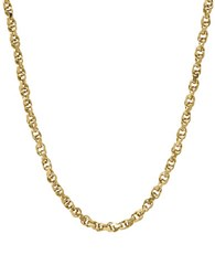 Lord And Taylor 14K Yellow Gold Rolo Chain Necklace
