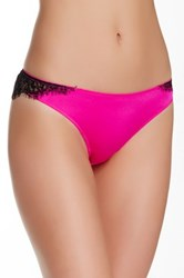 Jezebel Satine Thong Pink