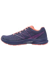 Salomon Sonic Pro 2 Neutral Running Shoes Astral Aura Living Coral Grape Juice Purple