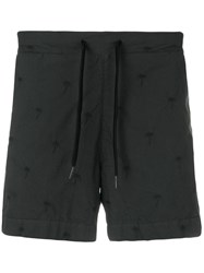 Tomas Maier Riviera Cotton Shorts Cotton Green