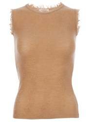 Maison Ullens Sleeveless Vest Top