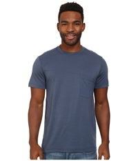 Black Diamond Deployment Pocket Tee Indigo Men's Short Sleeve Pullover Blue
