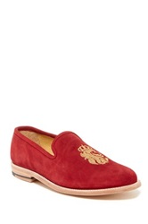 Caminando Japan Embroidered Suede Loafer