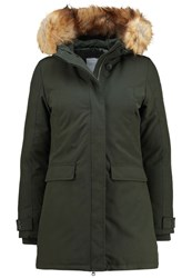 Bomboogie Down Coat Woodland Dark Green