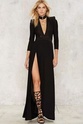 Zhivago Embrace Maxi Dress Black
