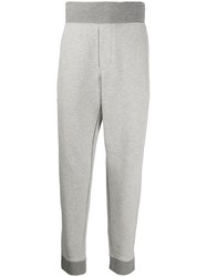 James Perse Contrast Track Trousers Grey