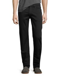 7 For All Mankind Luxe Sport Slimmy 5 Pocket Pants Blk Black