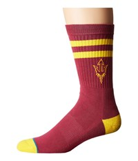 Stance Arizona State Maroon Men's Crew Cut Socks Shoes Red