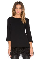 Kate Spade Feather Top Black