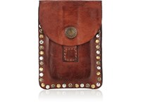 Campomaggi Leather Flap Pouch Brown