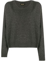 Max And Moi Loose Fit Cashmere Sweater Grey
