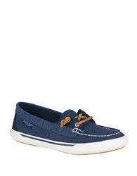 Sperry Quest Rhythm Cotton Loafers Navy Blue