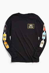 Urban Outfitters Mad Dog 20 20 Long Sleeve Tee Black