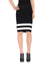 Edun Knee Length Skirts Black