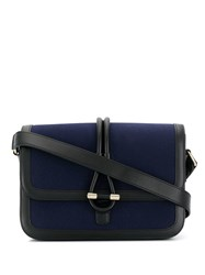 Tila March Romy Messenger Canvas Bag Blue
