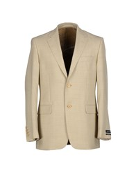 Sand Suits And Jackets Blazers Men Beige