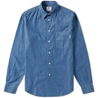 Paul Smith Denim Shirt Blue
