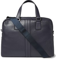 Tod's Leather Briefcase Navy
