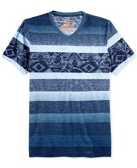 American Rag Men's Patterned Ombre T Shirt Only At Macy's Curaco Nights