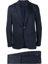 Tonello Two Piece Formal Suit Blue