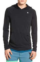 Hurley Men's Icon Dri Fit Hooded T Shirt