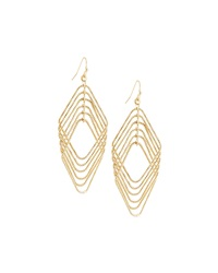 Fragments For Neiman Marcus Fragments Diamond Shape Frame Drop Earrings