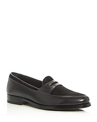 Mr. Hare Penny Loafers Black