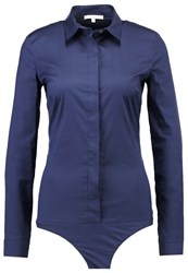Patrizia Pepe Shirt Lapis Blue Royal Blue