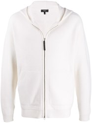 Theory Cashmere Zip Up Cardigan 60