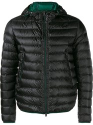 Moncler Quilted Feather Down Jacket Green