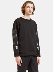Acne Studios Field Striped Sweater Black