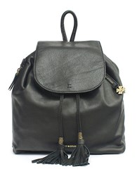 Lucky Brand Nyla Leather Backpack Black