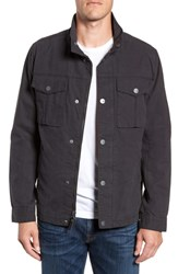 Ugg Cohen Waxed Cotton Jacket Off Black