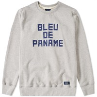 Bleu De Paname Logo Sweat Grey