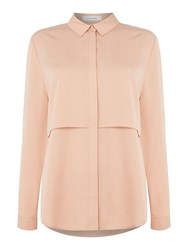 Ivy And Oak Longsleeve Shirt Blouse With Layers Blush