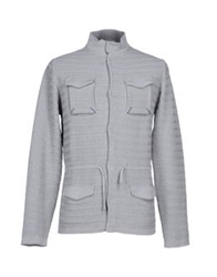 Gold Case By Rocco Fraioli Cardigans Light Grey