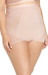 Spanxr Plus Size Women's Spanx Spotlight On Lace High Waist Briefs Vintage Rose
