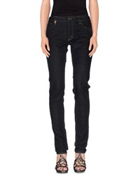 Ralph Lauren Denim Denim Trousers Women Blue