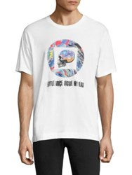 Robert Graham Little Voices Graphic Tee White